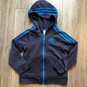 Boys sz6 Adidas zip hoody - like new